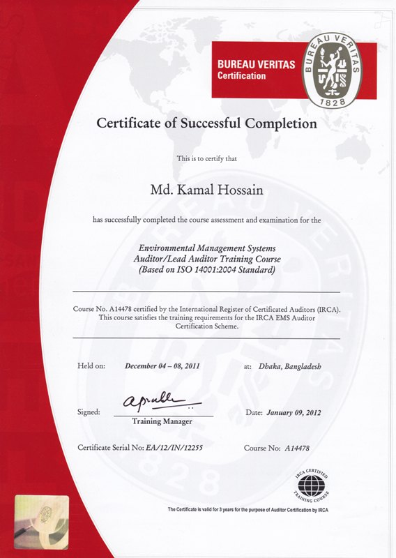 ISO 45001 Auditor/Lead Auditor - CQI & IRCA Certified